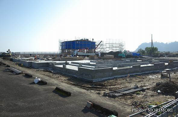 青島フィッシャーマンズ・ビーチサイドホステル&スパ 建設中 2016年11月末