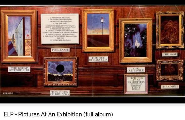 エマーソンレイク&パーマー 展覧会の絵 Youtube