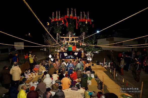 村所八幡神社神楽(宮崎県西米良村) 1