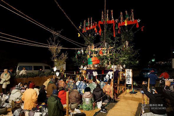 村所八幡神社神楽(宮崎県西米良村) 2