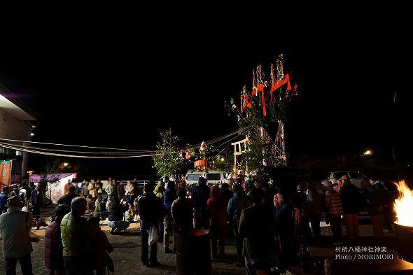村所八幡神社神楽(宮崎県西米良村) 3