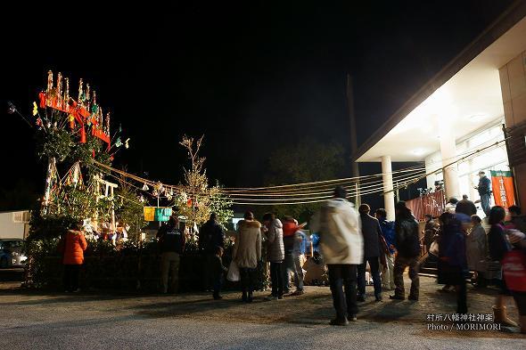村所八幡神社神楽(宮崎県西米良村) 4
