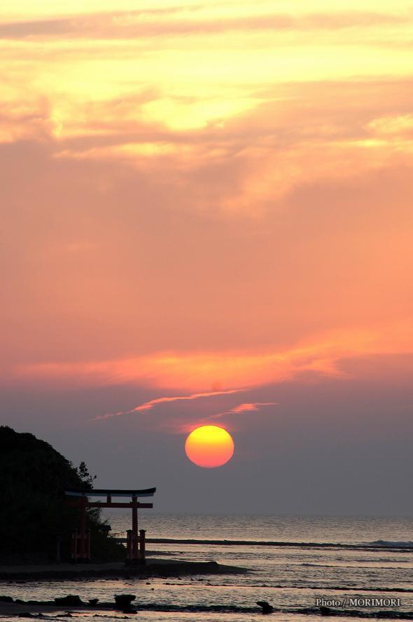 青島の日の出 夏
