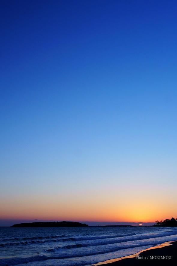 青島の朝日 1月