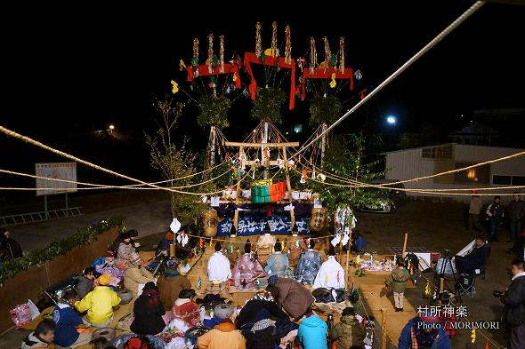 米良山の神楽 村所神楽 1