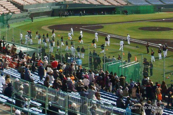 巨人キャンプ(KIRISHIMAサンマリンスタジアム宮崎)