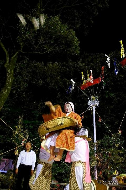 大塚神社神楽(杵舞)
