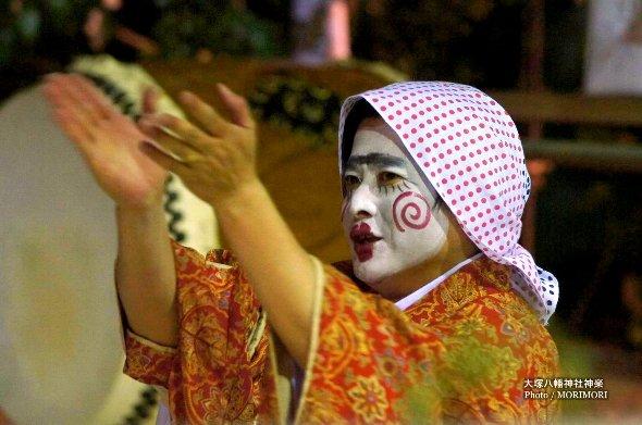 大塚八幡神社神楽 杵舞