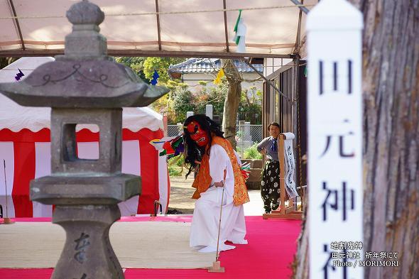 田元神社 神楽 (地割鬼神)