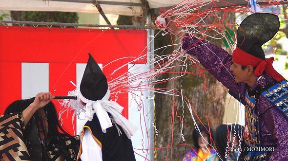 田元神社にて 神楽 潮満珠
