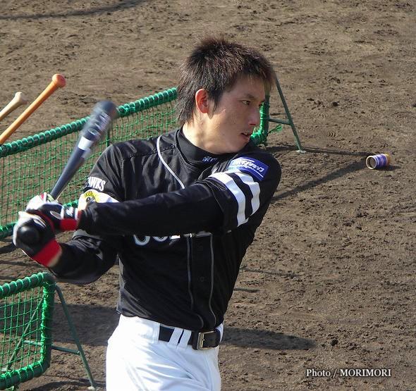 ムネリン(川崎宗則 内野手)2004年 春季キャンプ 生目の杜にて