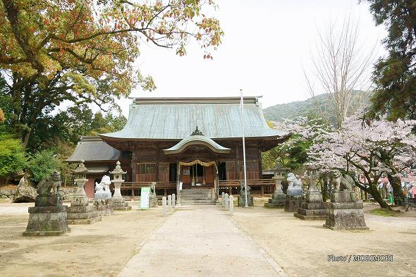 與止日女神社(よどひめじんじゃ)(与止日女神社)