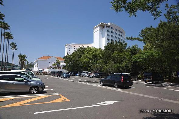 ANAホリデイ・インリゾート宮崎 南側駐車場