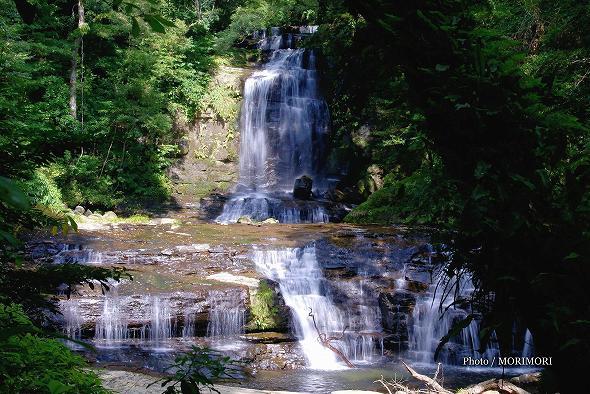 猪八重渓谷 五重の滝