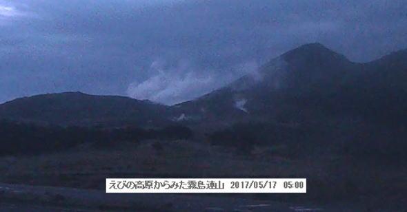 硫黄山 ライブカメラ映像
