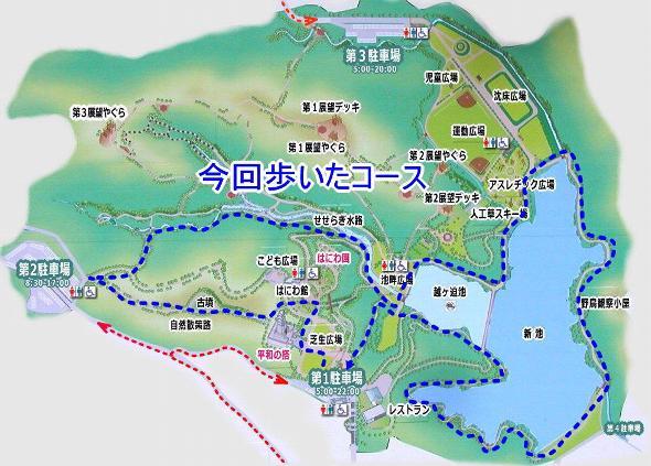 平和台公園マップ