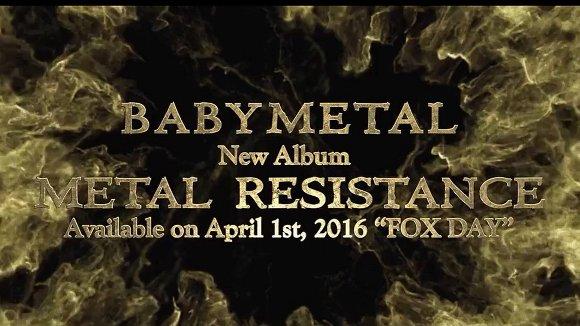 BABYMETAL(ベビーメタル)「METAL RESISTANCE」