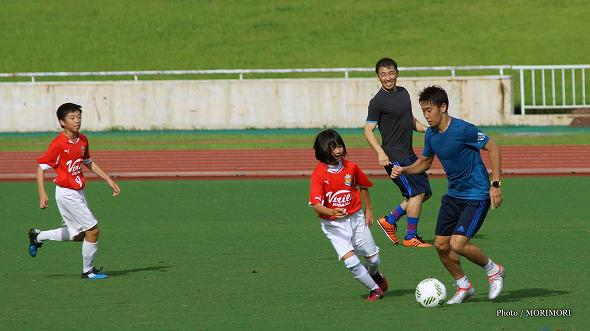 香川真司選手 宮崎トレーニングキャンプ(2016年)