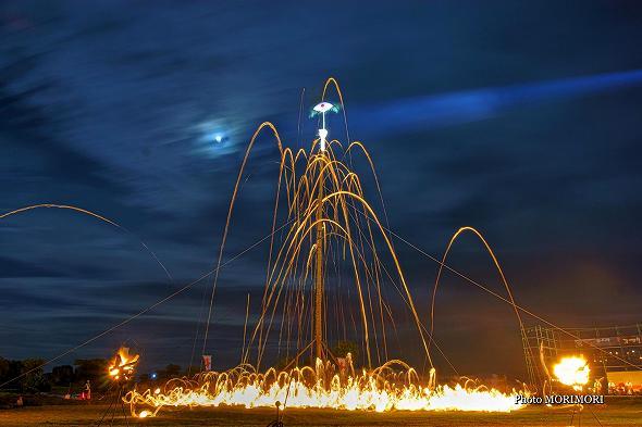 都井岬の火祭り