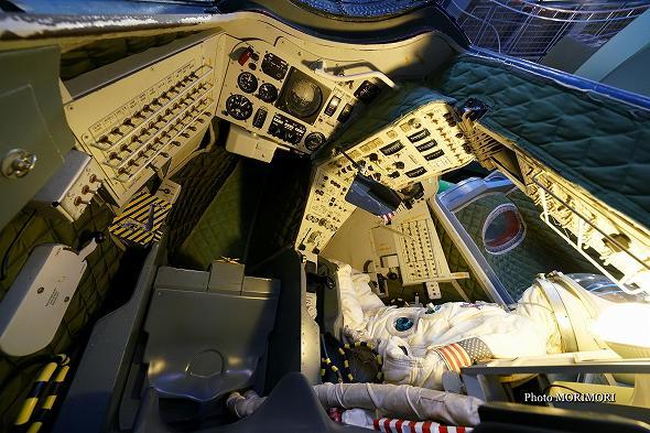 ジェミニ計画 飛行船 ジェミニカプセル 船内