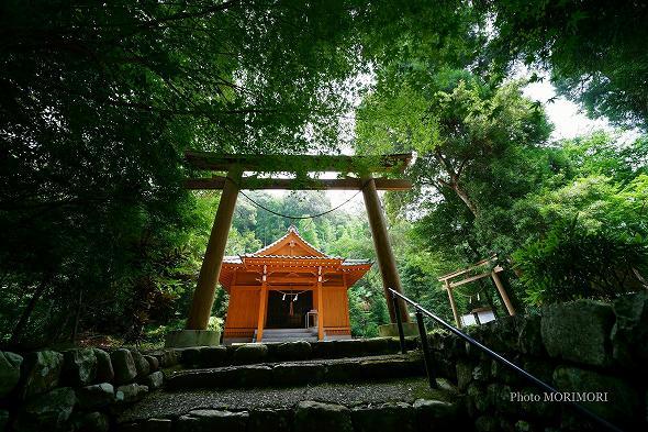 西都市銀鏡鎮座 銀鏡(しろみ)神社