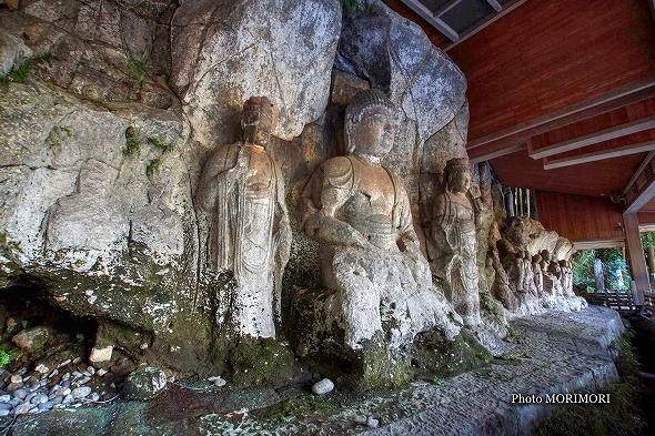 臼杵の石仏 3 【ホキ石仏第二群第一龕】