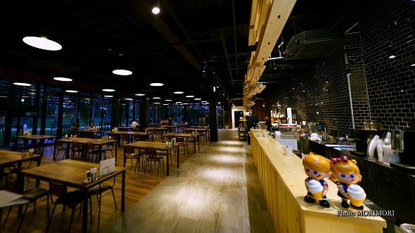 青島屋のレストラン Aoshima Dinig in The Garden