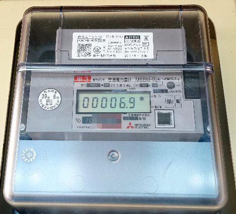 電気メーター(スマートメーター)