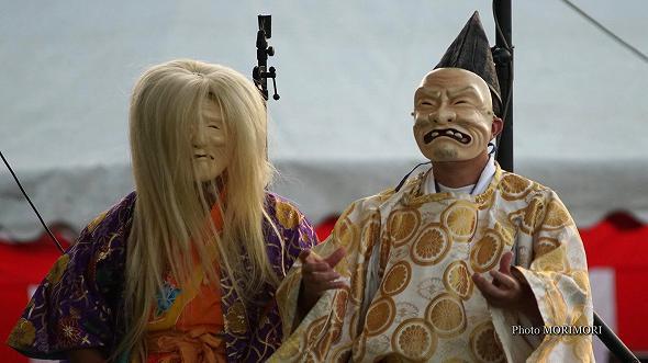 本郷神楽保存会(宮崎市)「八岐大蛇(やまたのおろち)」1