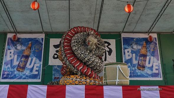本郷神楽保存会(宮崎市)「八岐大蛇(やまたのおろち)」5