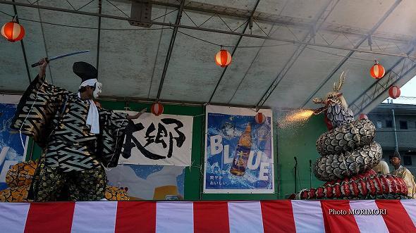 本郷神楽保存会(宮崎市)「八岐大蛇(やまたのおろち)」6