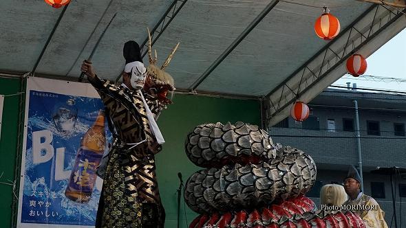本郷神楽保存会(宮崎市)「八岐大蛇(やまたのおろち)」7