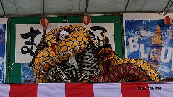本郷神楽保存会(宮崎市)「八岐大蛇(やまたのおろち)」8