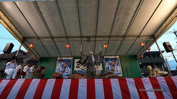 本郷神楽保存会(宮崎市)「八岐大蛇(やまたのおろち)」9
