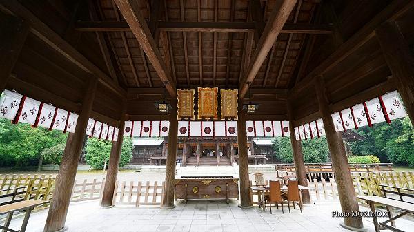 宮崎神宮 拝殿