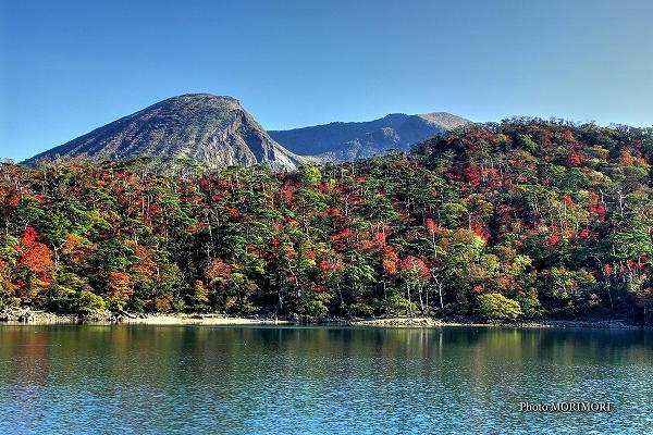 えびの高原 六観音御池の紅葉