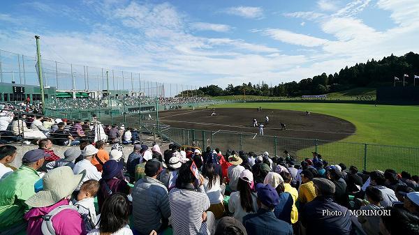 侍ジャパン 2017秋季合宿(宮崎市 SOKKENスタジアム)