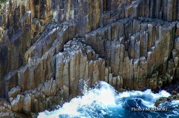 日向岬の柱状節理