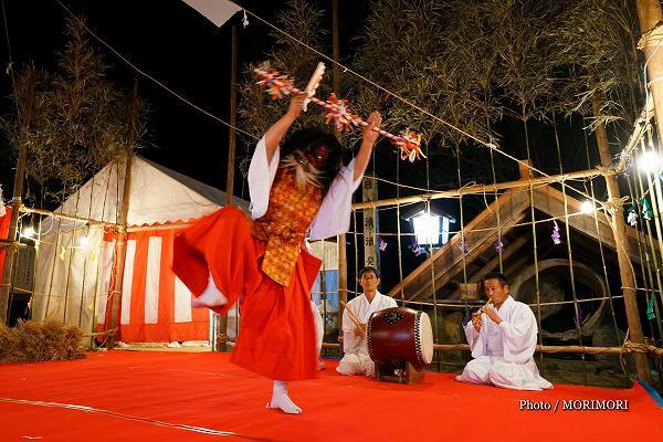 都萬神社秋季大祭 神楽
