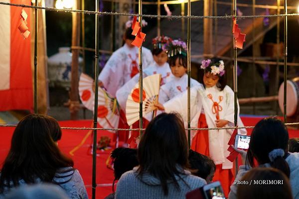 都萬神社 秋季大祭 子供神楽