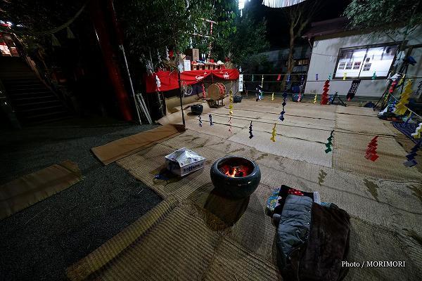 「米良山の神楽」児原稲荷神社 越野尾神楽にて 6