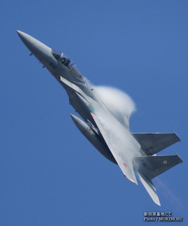 305SQ F-15 起動 新田原基地にて