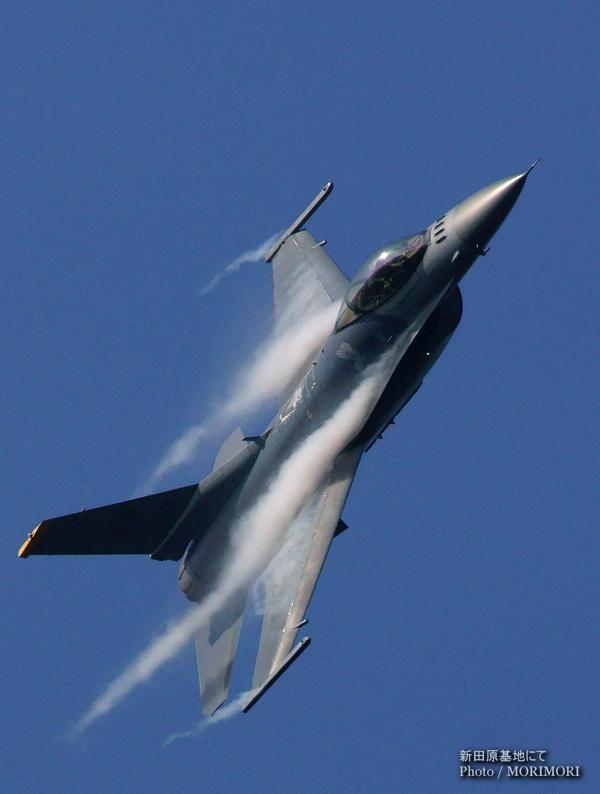 F-16 米軍 アクロバット 新田原基地にて