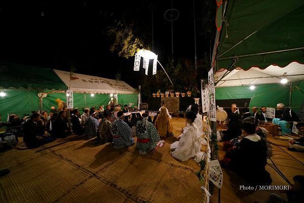 舞庭での神事 斎場祭