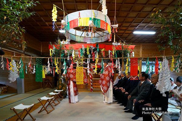 西米良村鎮座 小川神社大祭 神事