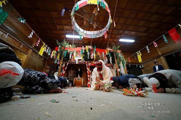 米良神社 小川神楽 唐っ旦(カラッタン)