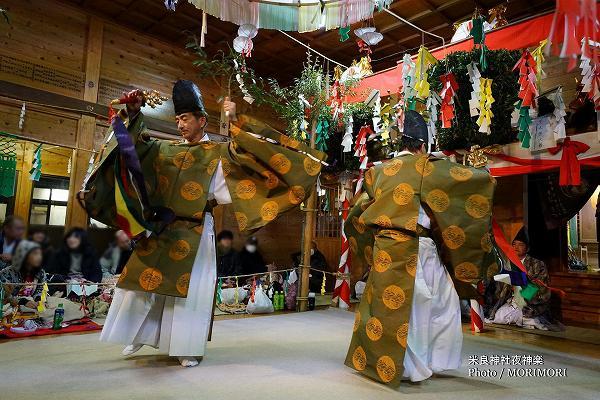 米良神社夜神楽(小川神楽) 清山