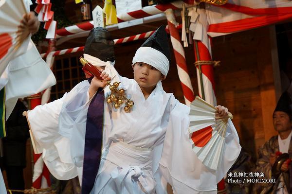 米良神社夜神楽(小川神楽) 花の舞