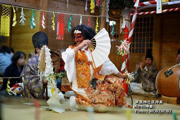 06〔 八幡様 〕米良神社夜神楽(小川神楽)