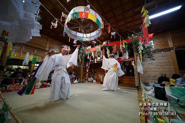 07〔 幣差 〕米良神社夜神楽(小川神楽)